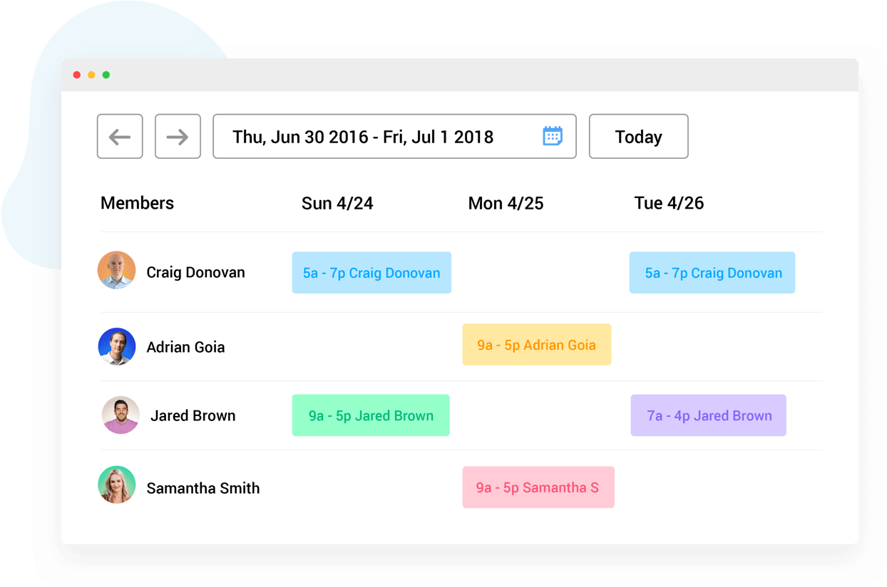 scheduling app for architects and and engineers