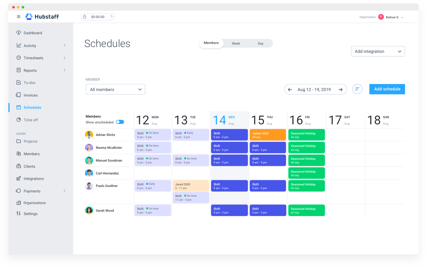 Employee Scheduling Software for Easy Staff Management