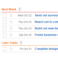 tasks time tracking