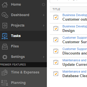 task time tracking